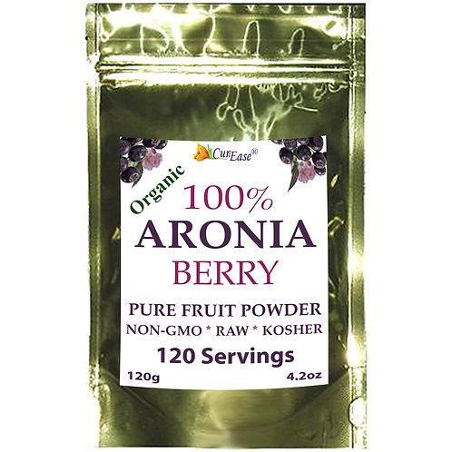 Organic Black Aronia Chokeberry Powder