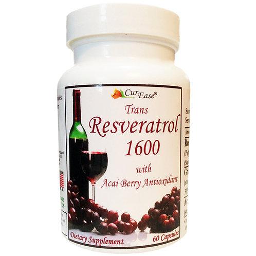 Polygonum Cuspidatum Trans Resveratrol + Acai Berry Pills 60 Capsules