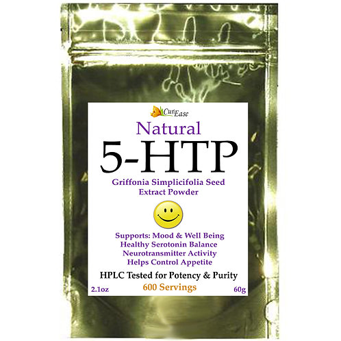 5-HTP Powder 100% PURE Anti-Depressant Mood Enhancer
