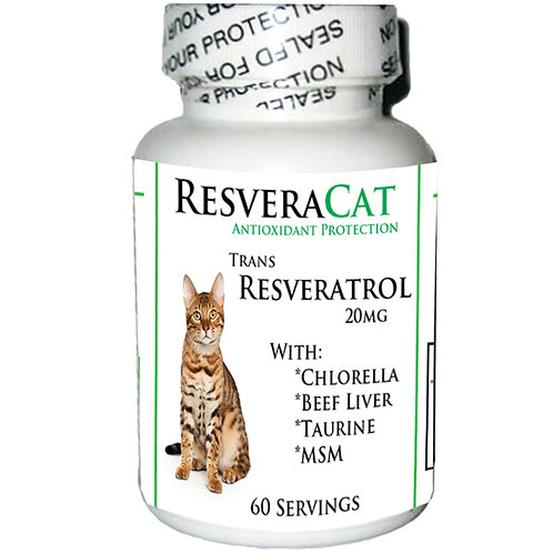 ResveraCat: Resveratrol Anti Aging Formula Powder for Cats