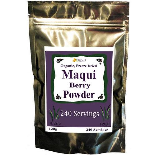 Organic Maqui Berry Powder - Freeze Dried