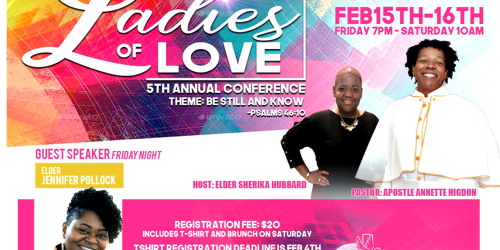 Ladies of Love 5 Annual Conference