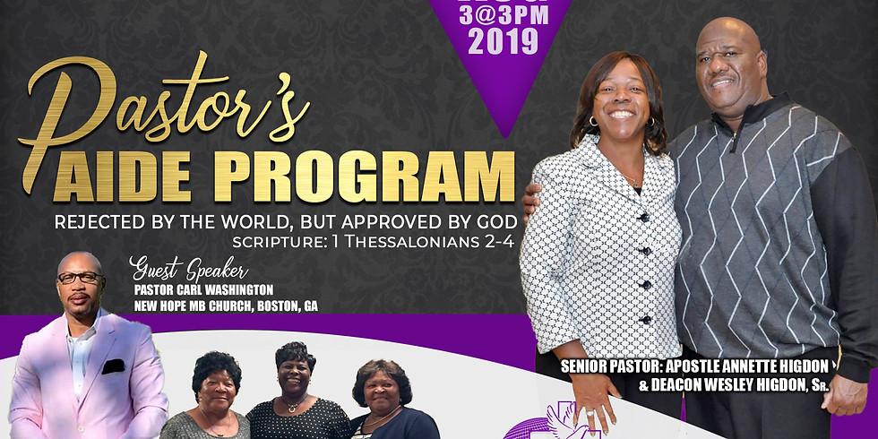 Pastor's Aide Program