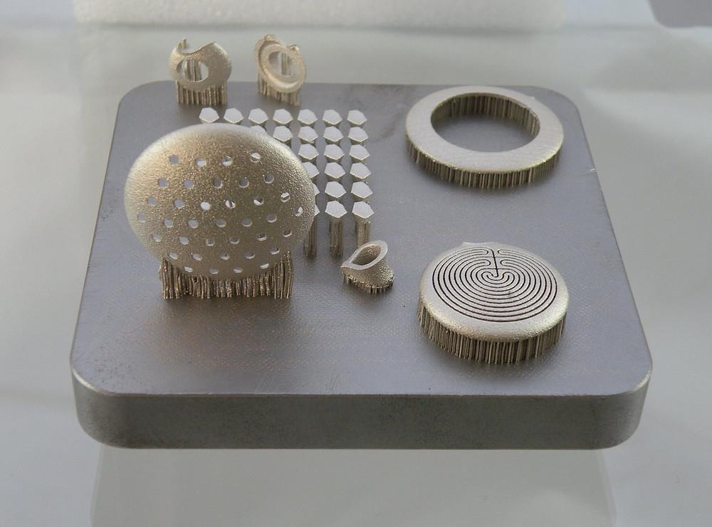 Silver Metal 3D Printing Jewellery