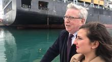 Visita del Coordinatore Europeo del Corridoio Scandinavo-Mediterraneo, Pat Cox, in Sicilia e Calabri