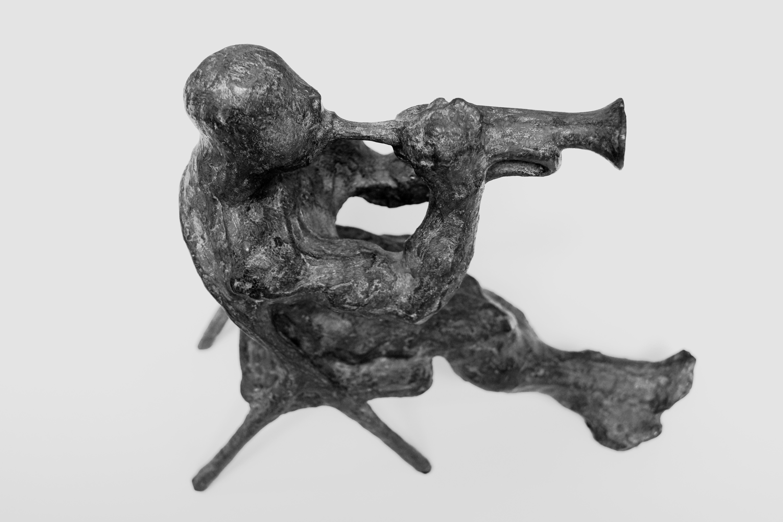 Trumpet player, 2017