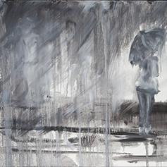 Patience Orageuse - Avril 2011 - 70x50 cm
