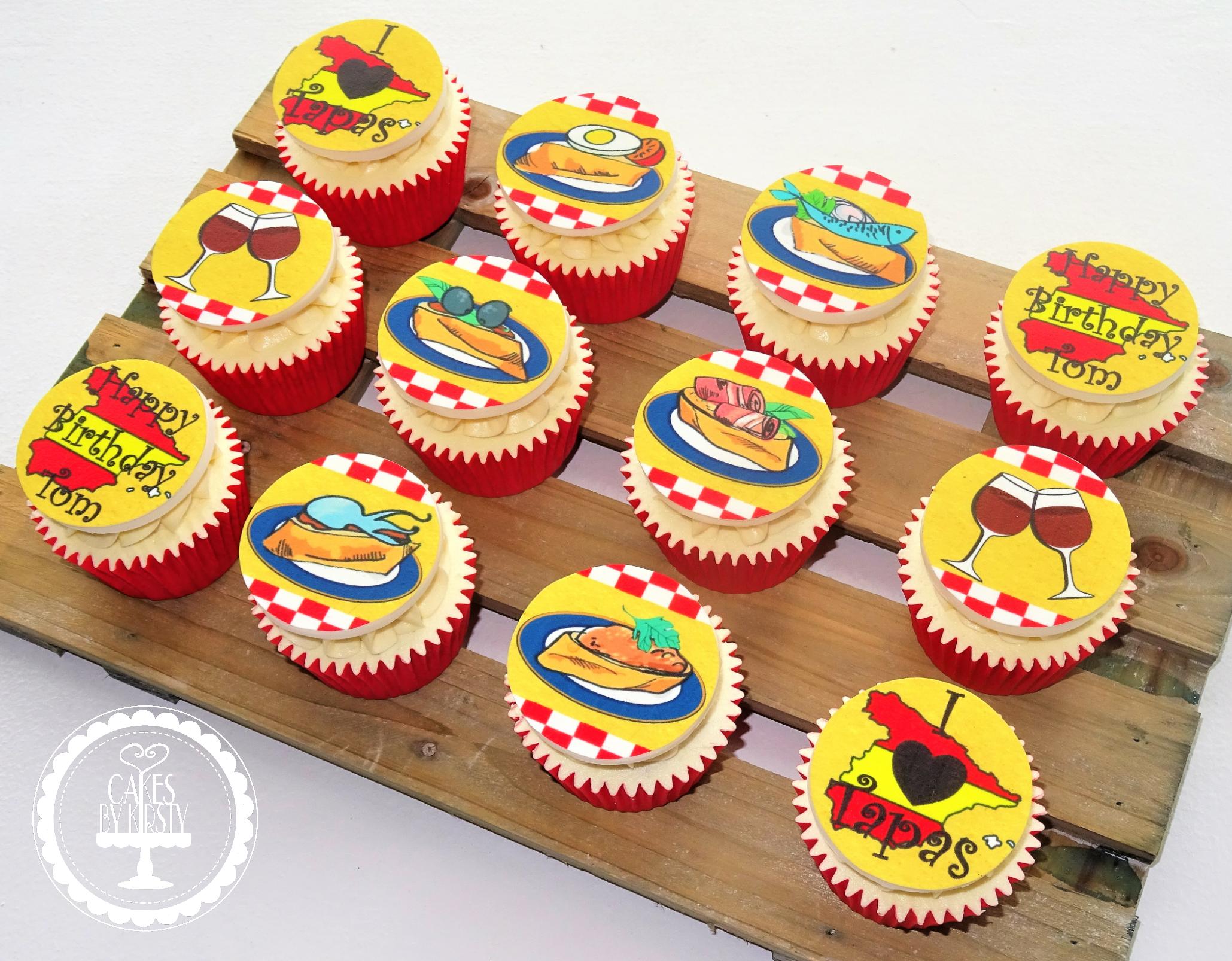 Tapas Cupcakes