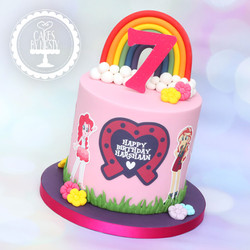 20201224 - Equestria Girls Cake