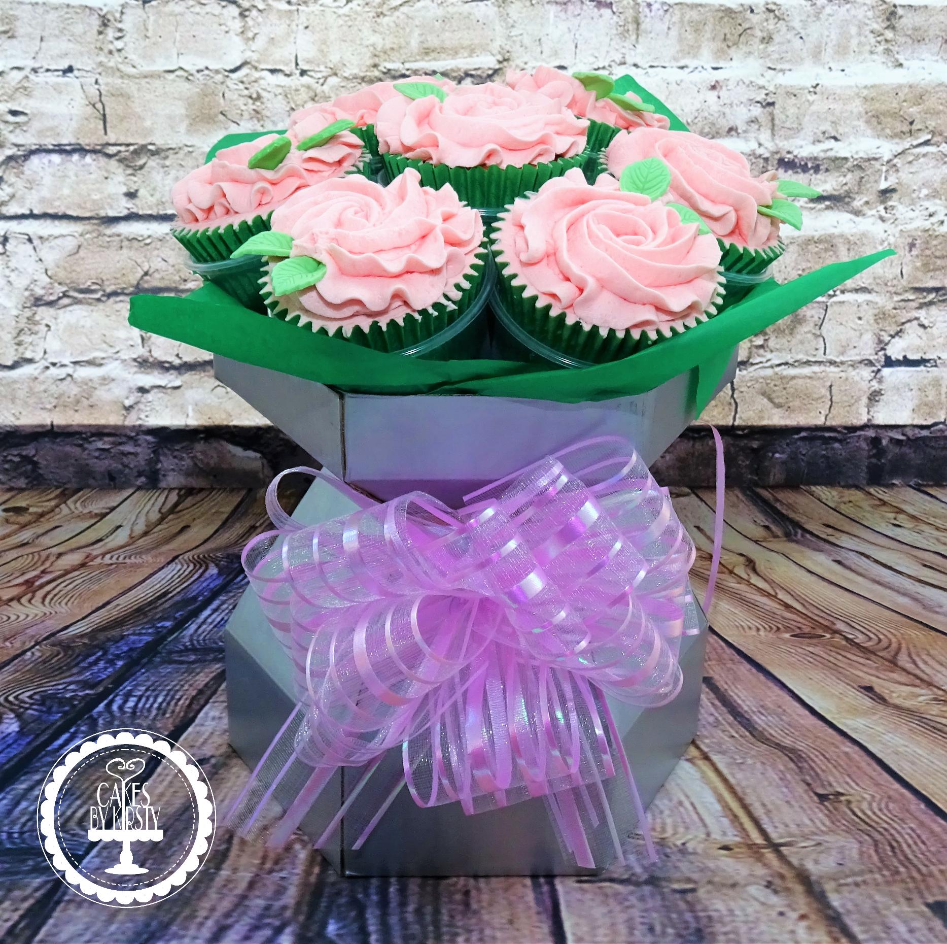 Floral Cupcake Bouquet