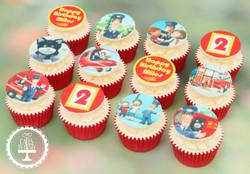 20201112 - Postman Pat Cupcakes