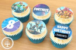 20200112 - Fortnite Cupcakes