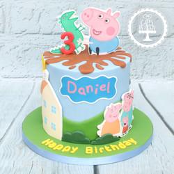20201213 - George Pig Cake