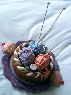 Wool Basket Cake