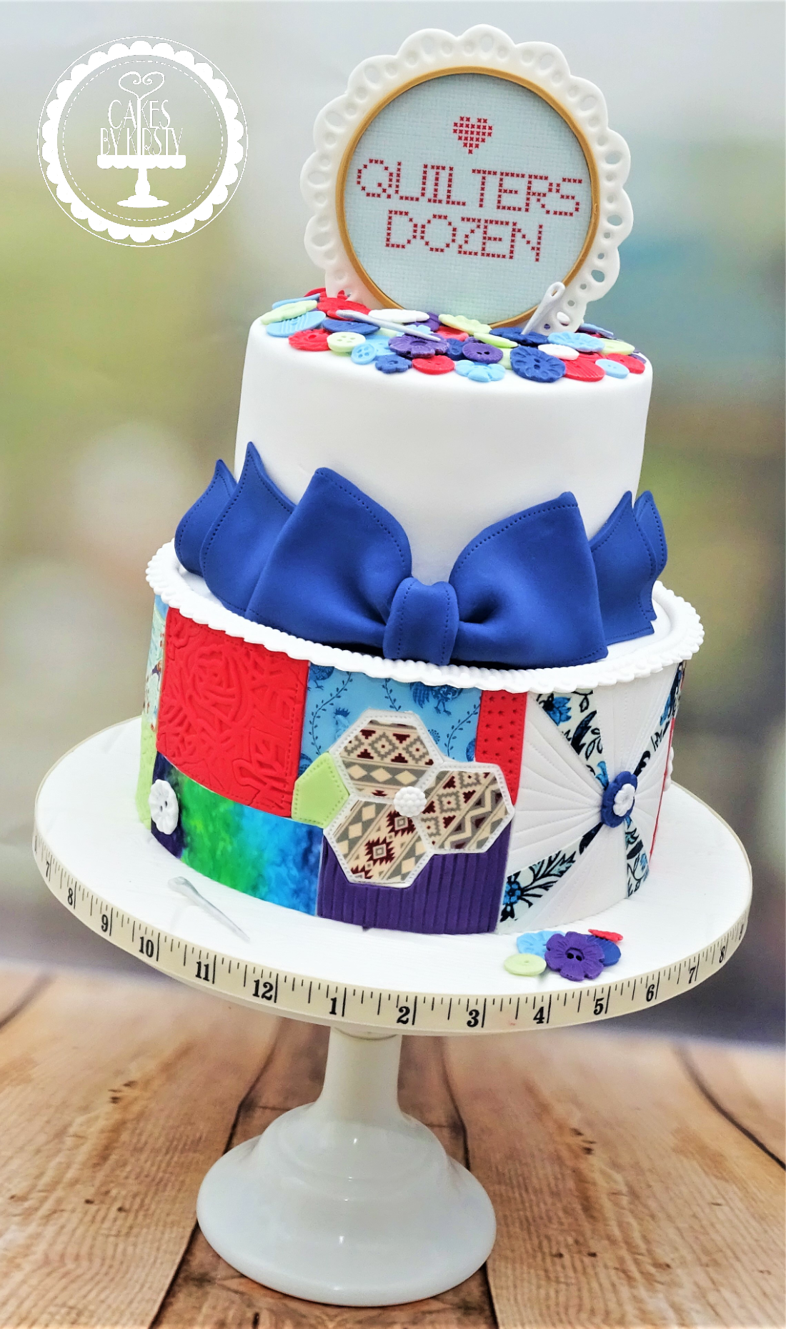 Quilting Patchwork Cake