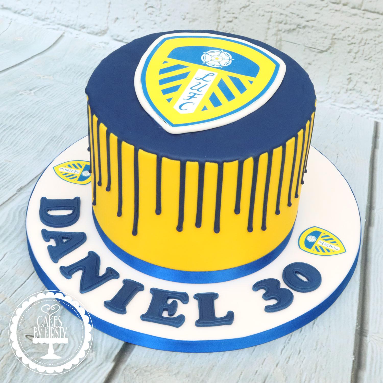20200312 - Leeds United Drip Cake