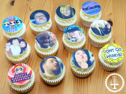 Joint Birthday_ Leaving Do Cupcakes