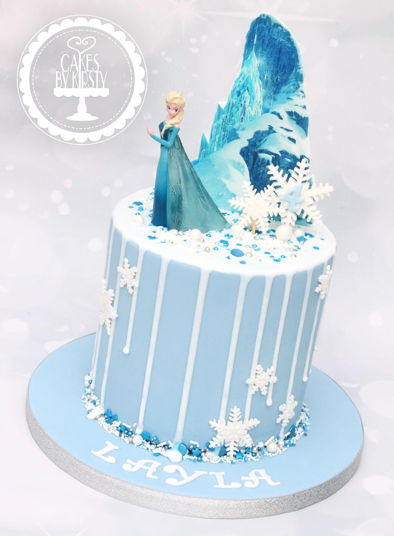 20201003 - Frozen Elsa Cake