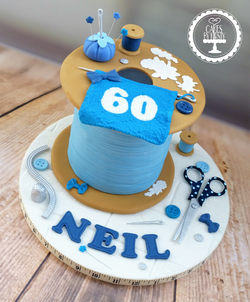 Sewing, Knitting & Quilting Spool Cake