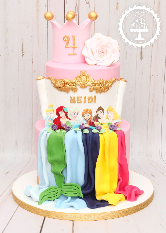 20200315 - Princess Dresses Cake