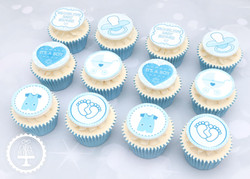 20200822 - Baby Shower (Boy) Cupcakes