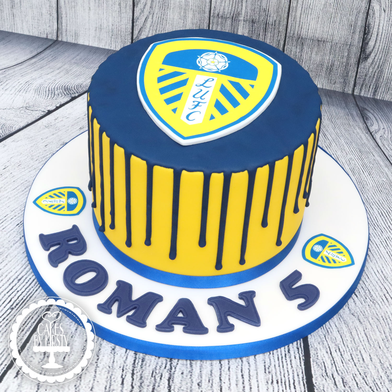 20200828 - Leeds United Drip Cake