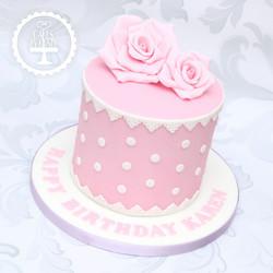 20200323 - Vintage Floral Cake