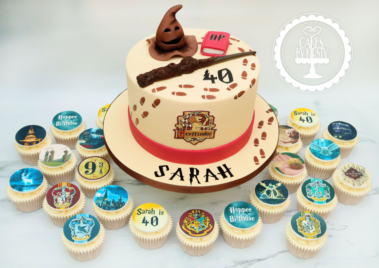 20191122 - Harry Potter Gryffindor Cake
