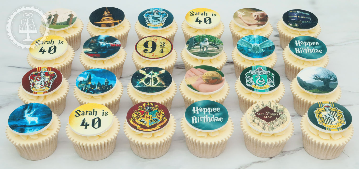 20191122 - Harry Potter Cupcakes