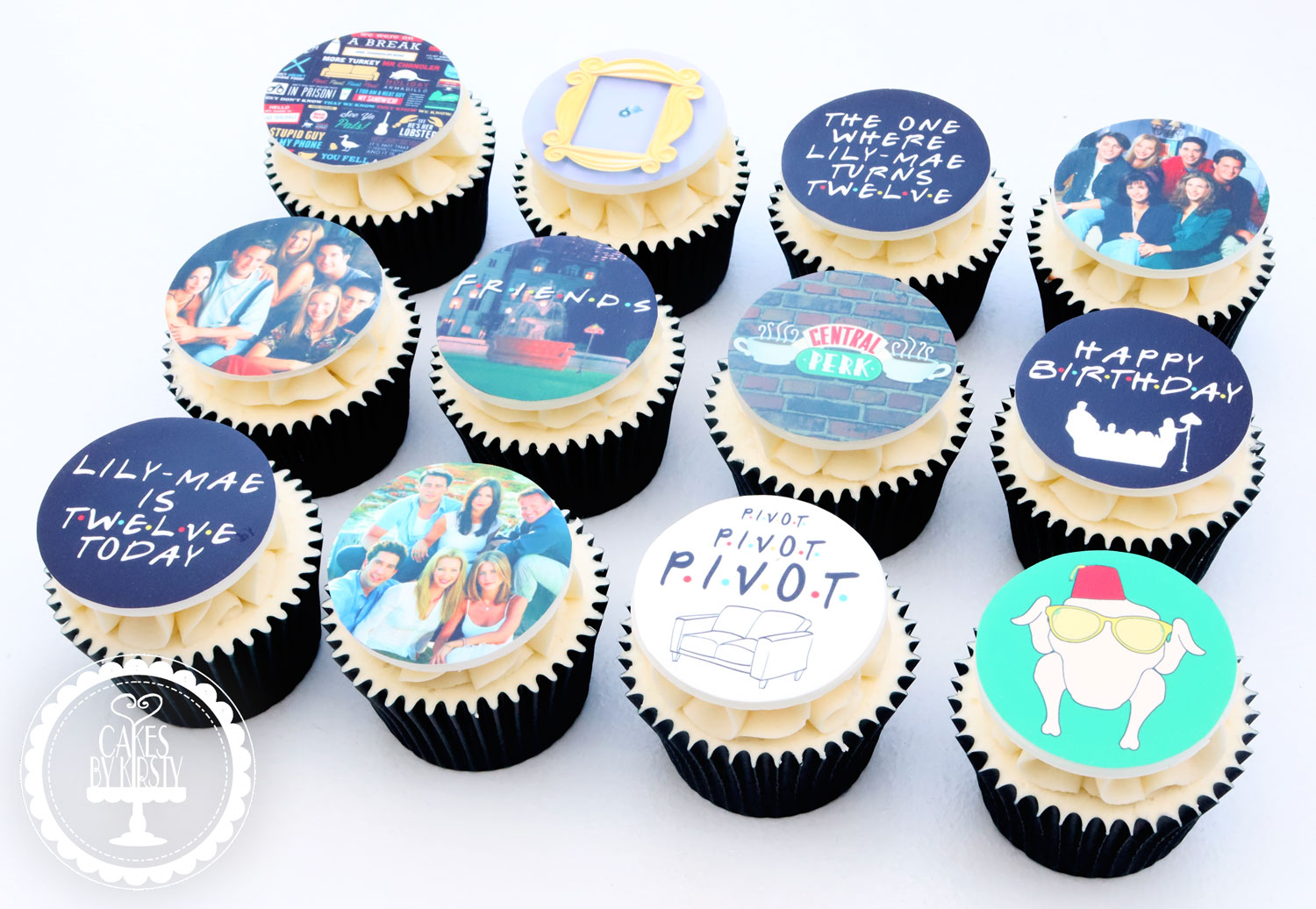 20201231 - Friends TV Show Cupcakes