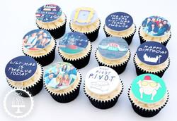 20201231 - Friends TV Show Cupcakes