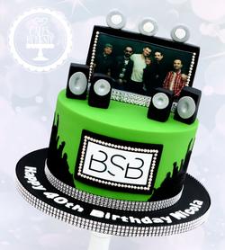 20190907 - Backstreet Boys 40th Cake
