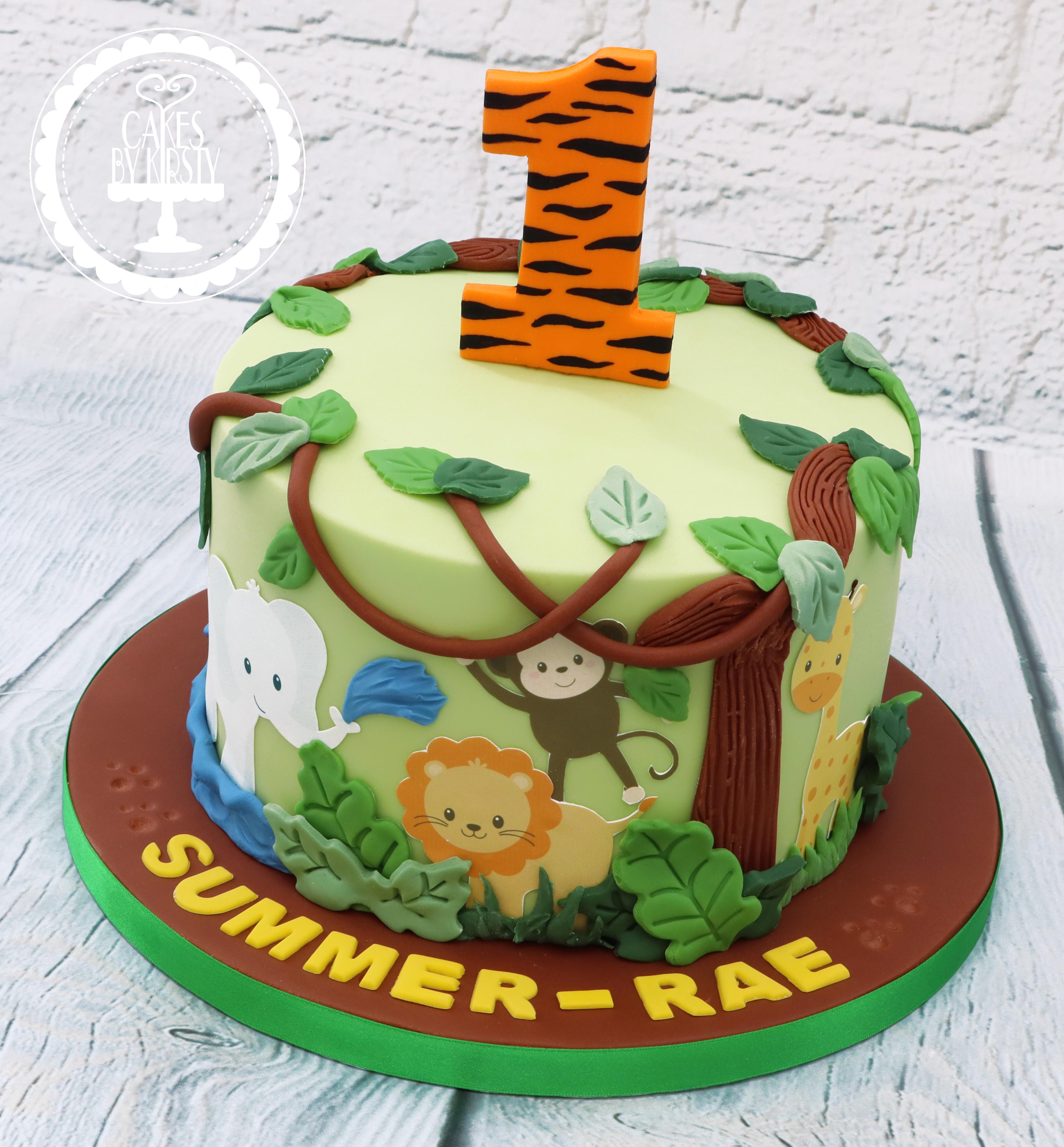 20190810 - Jungle Animals 1st Birthday C