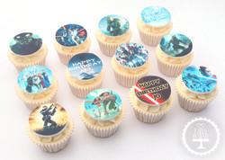 20201017 - Gaming Movie Cupcakes