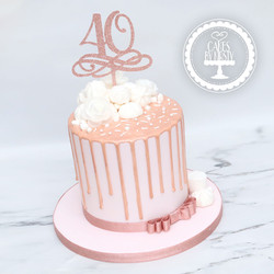 20210129-Rose-Gold-40th-Drip-Cake