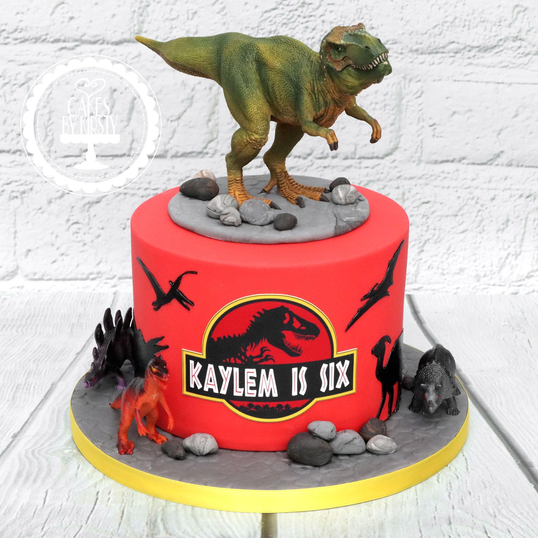 20200202 - Jurassic Park Dinosaur Cake