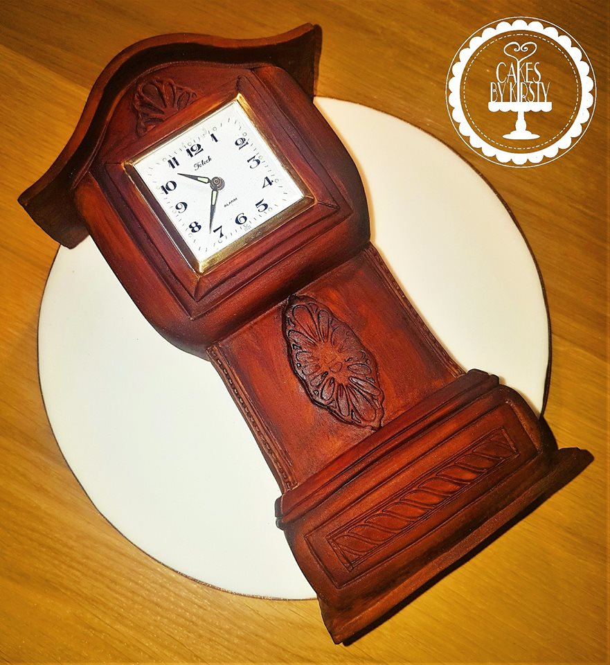 Mini Gradnfather Clock Cake