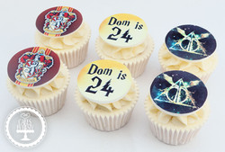 20210122 - Harry Potter Cupcakes