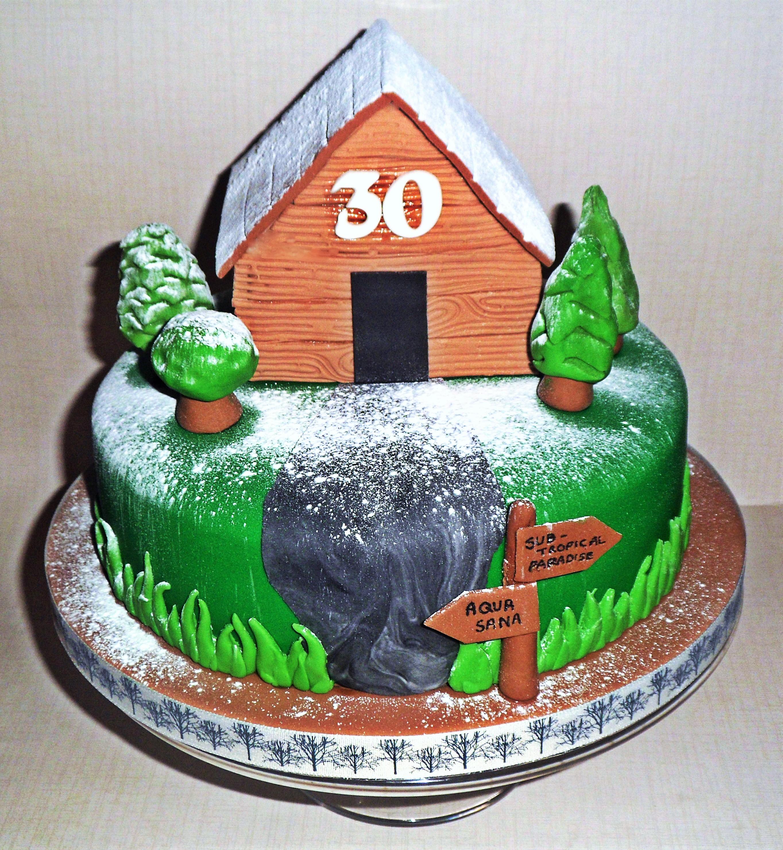 Center Parcs Cake