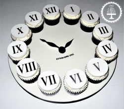 Clock Cupcake Board