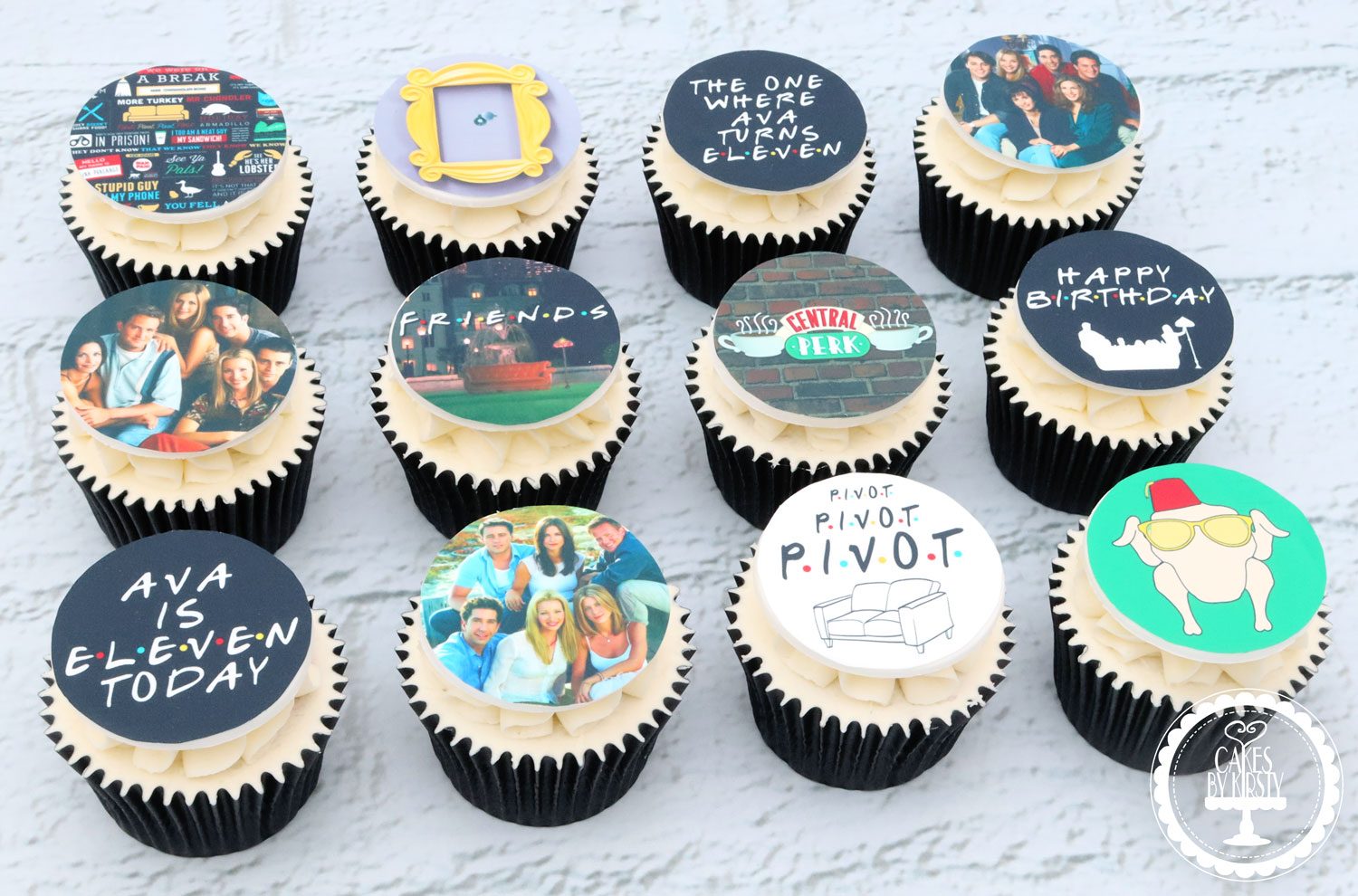 20200920 - Friends TV Show Cupcakes