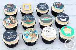 20200920 - Friends TV Show Cupcakes