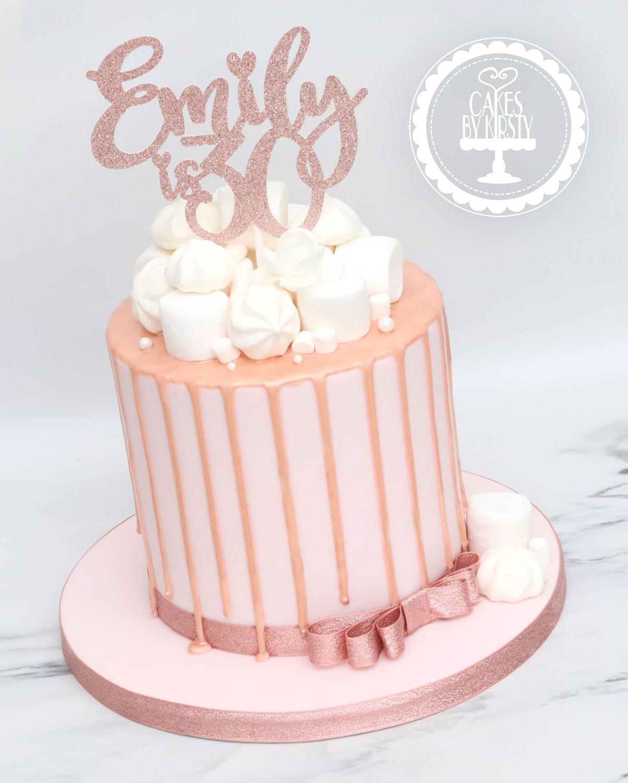 20201023 - Rose Gold Drip Cake