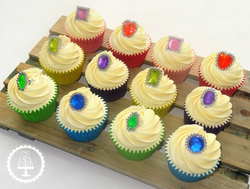 Jewel Ring Cupcakes