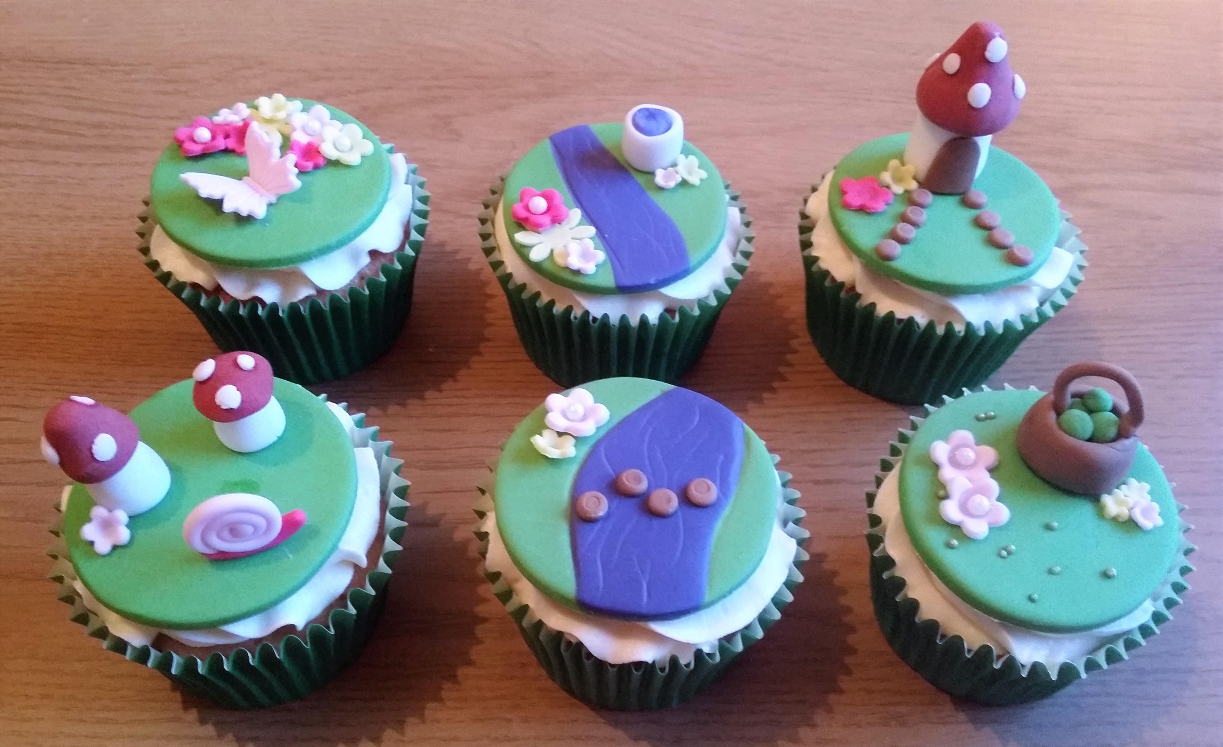 Fairy Garden Cupcakes