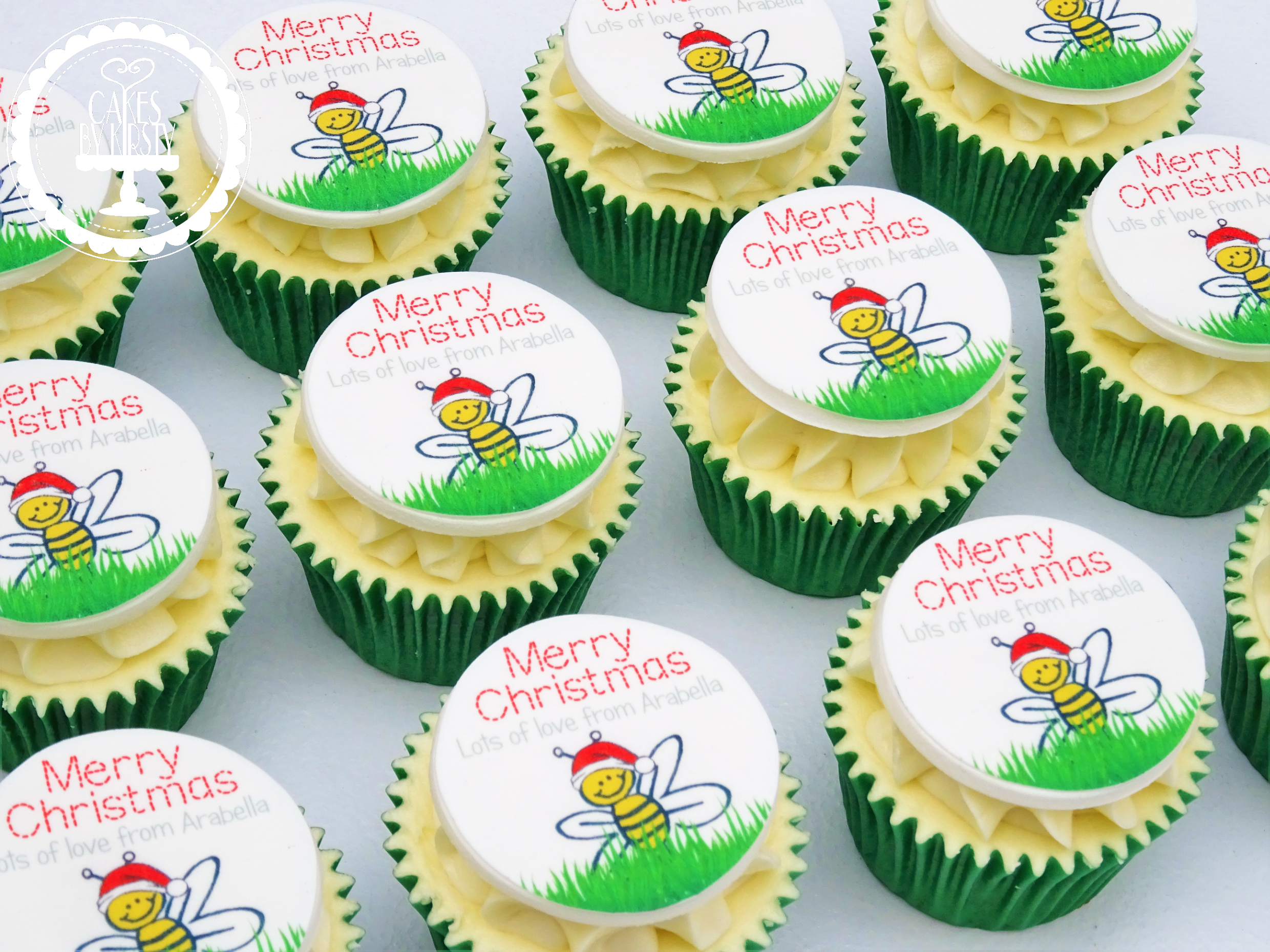 Nursery Teacher Christmas Cupcakes