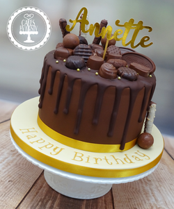 Thorntons Chocolate Drip Cake