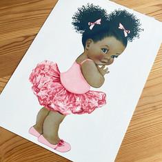 Afro Baby - Cake Icing Sheet