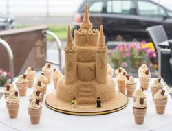 Sandcastle Wedding Cake
