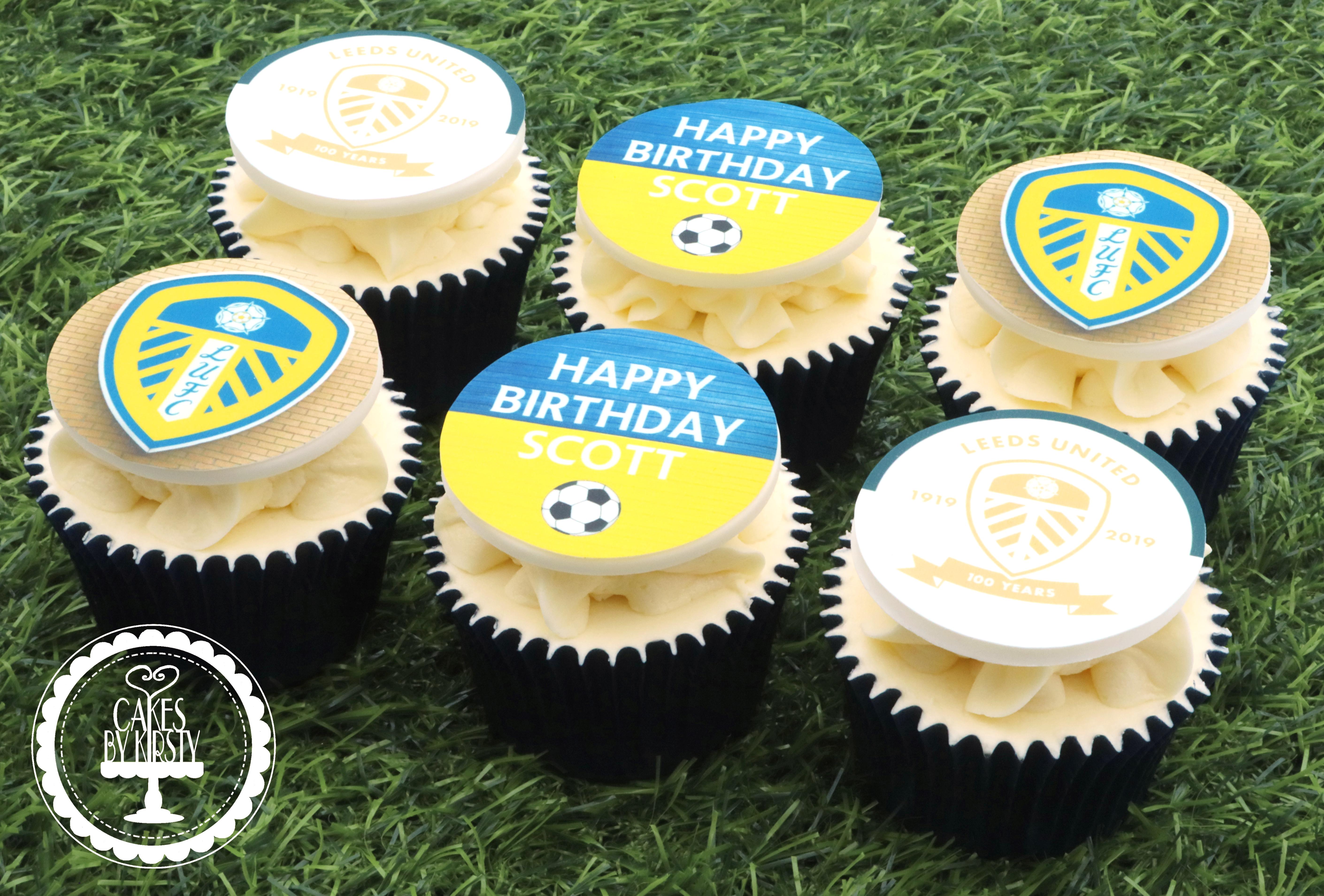 20190915 - Leeds United Cupcakes
